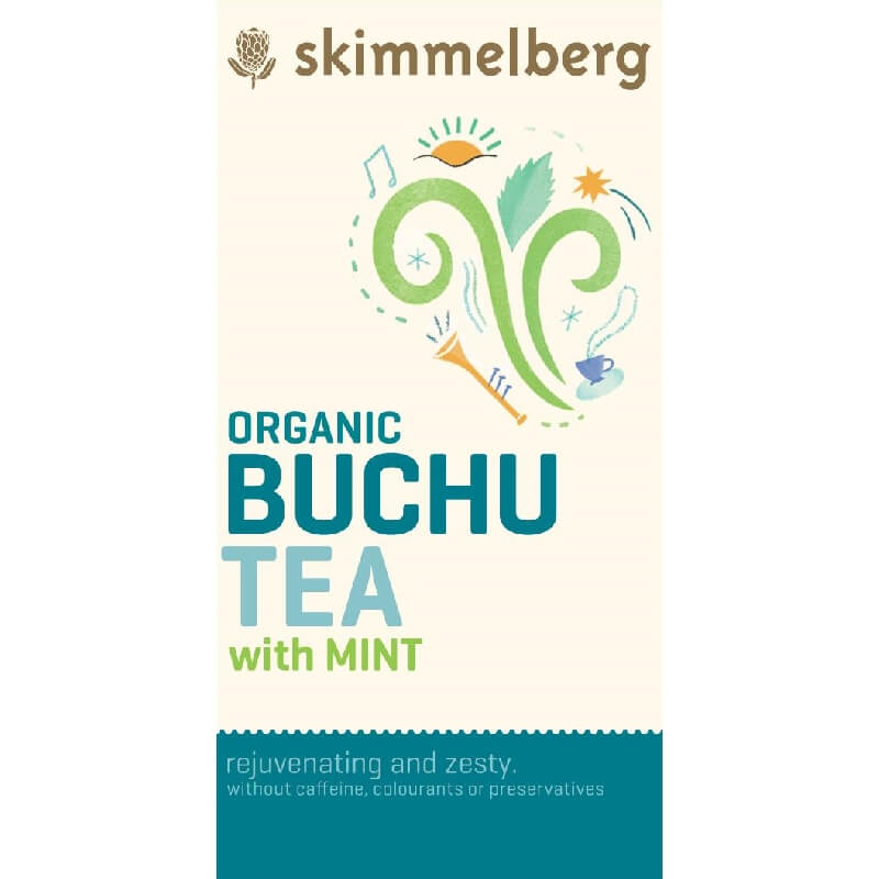 Skimmelberg Organic Buchu and Mint Tea - 800