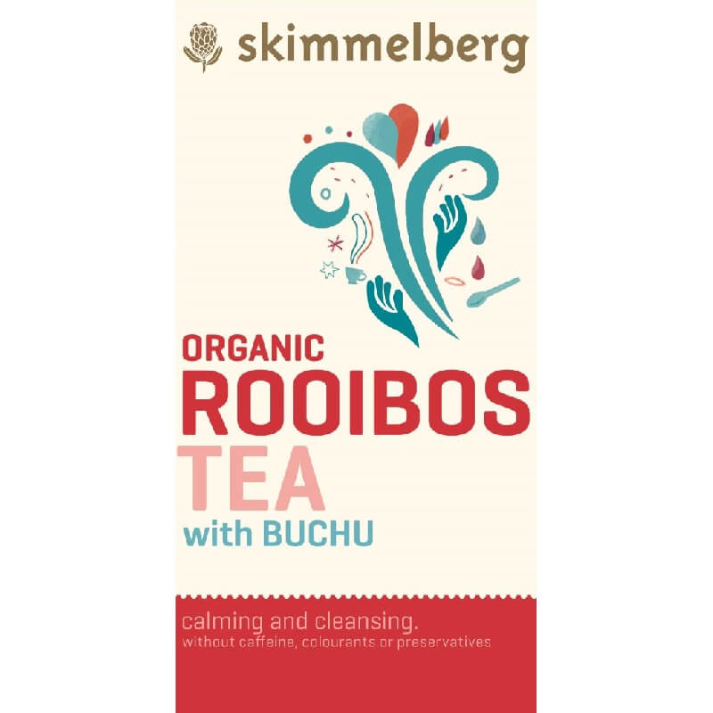 Skimmelberg Organic Rooibos Buchu Tea - 800